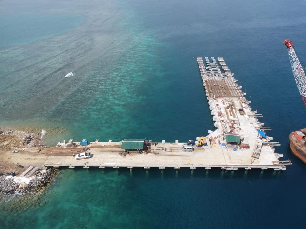 Progres Pembangunan Terminal Wae Kelambu Labuan Bajo Capai 86%