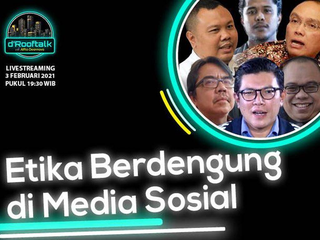 Live! dRooftalk: Etika Berdengung di Media Sosial