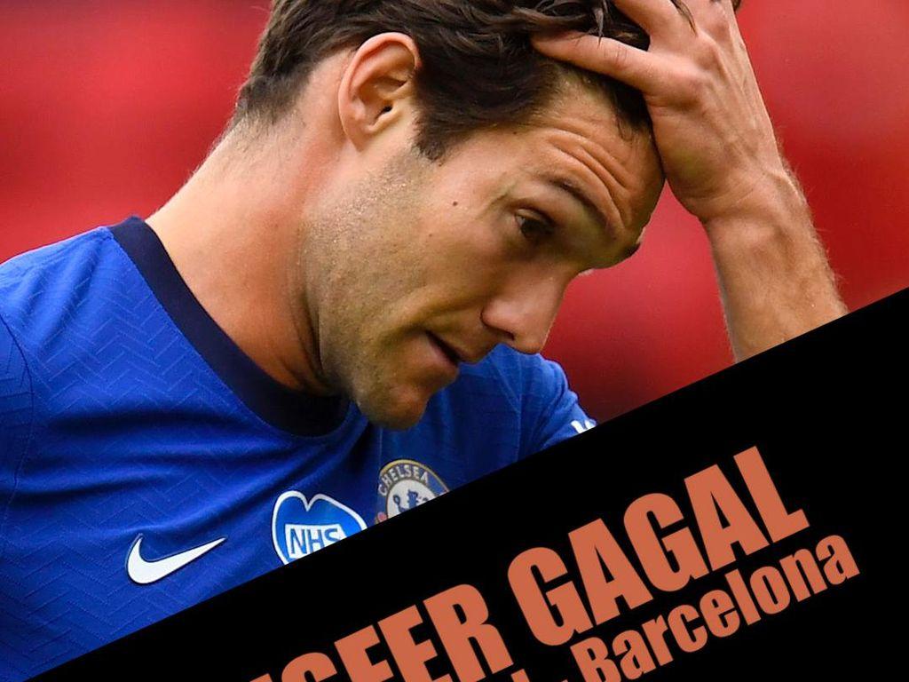 Kegagalan Transfer Segitiga Barca, Arsenal, Chelsea