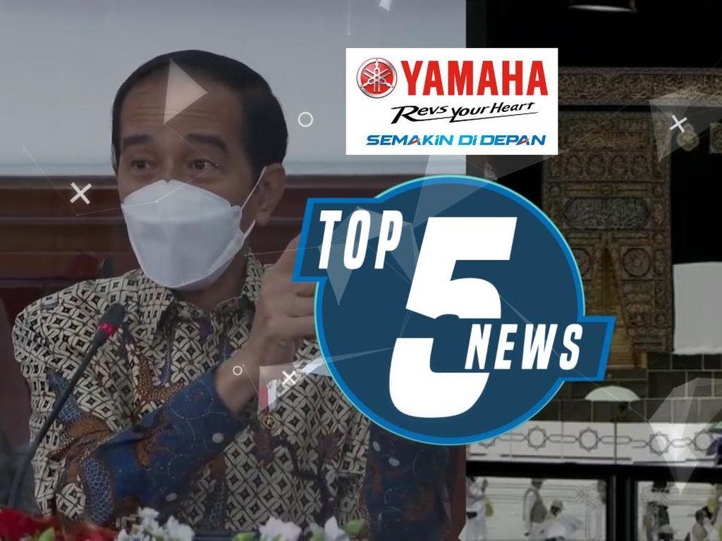 Jokowi Minta PPKM Berlaku di RT/RW, RI Dilarang Masuk Arab Saudi