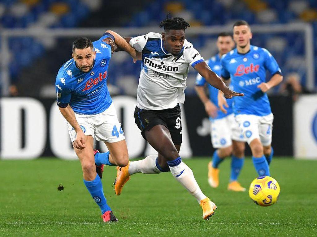 Tak Ada Gol di Laga  Napoli Vs Atalanta