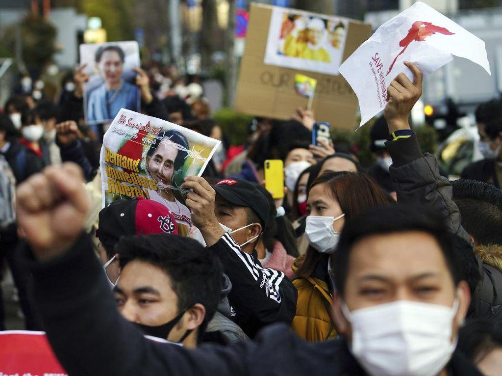 Junta Myanmar Pecat 2 Diplomat di Jepang, Total yang Dipecat 100 Orang