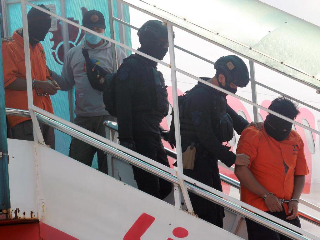 26 Terduga Teroris yang Dibawa ke Rutan Cikeas Terancam Hukuman Mati