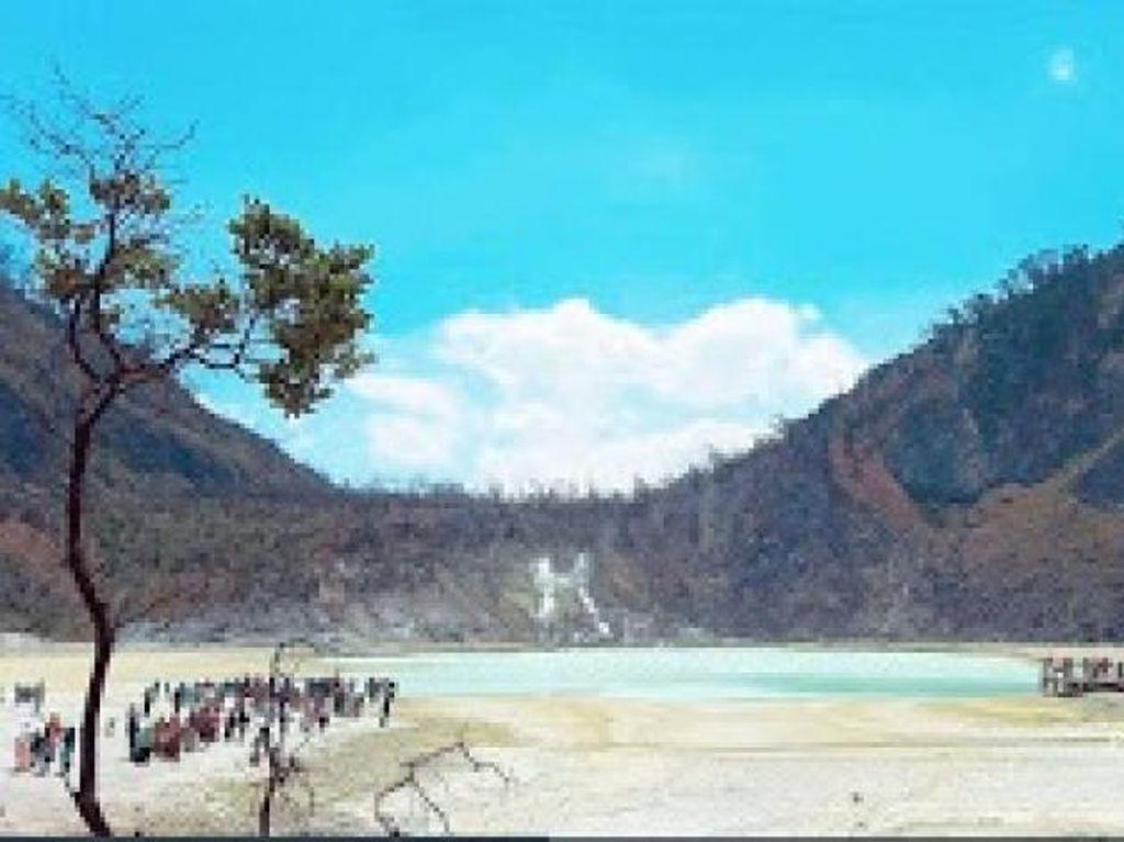 Cantik Seperti Lukisan, Inilah Kawah Putih Ciwidey Bandung