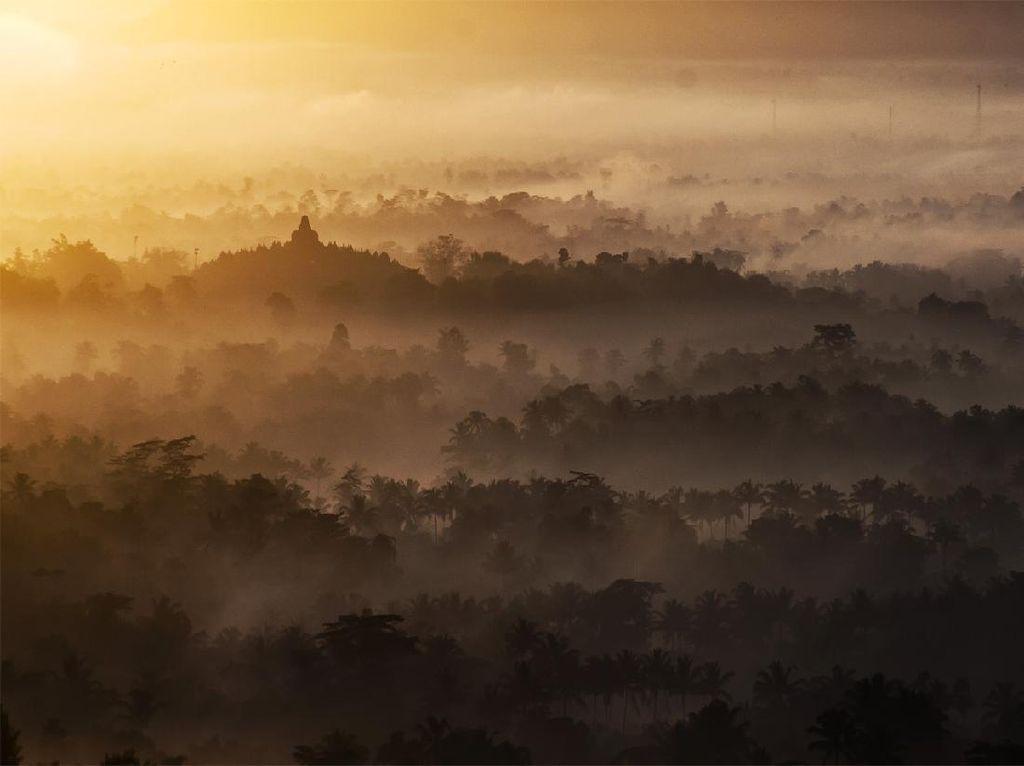 Inilah Tempat Fotografer Membidik Indahnya Candi Borobudur