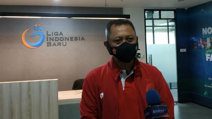 Direktur Operasional PT Liga Indonesia Baru (LIB), Sudjarno