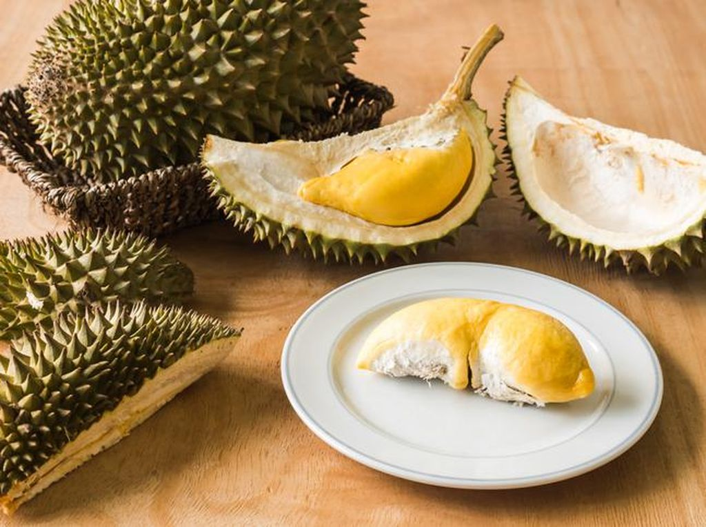 Durian Black Thorn, Durian Favorit Sultan yang Creamy dan Manis