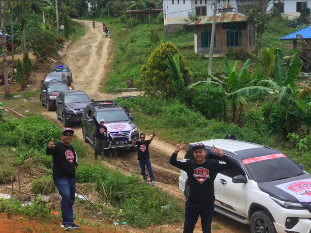 Garang di Jalan, Komunitas Ini Ikut Ulurkan Tangan Bagi Korban Gempa Sulbar