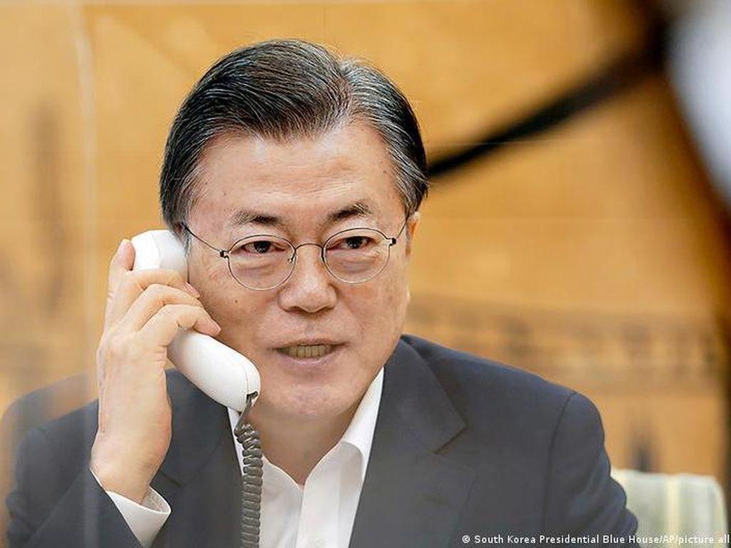 Moon dan Biden Sepakat Tingkatkan Upaya Perdamaian Semenanjung Korea