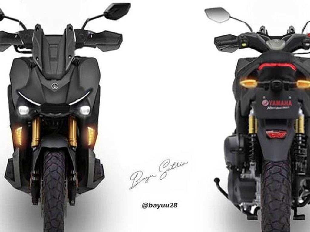 Rumor Yamaha X-Ride Pakai Mesin Nmax buat Tantang ADV 150