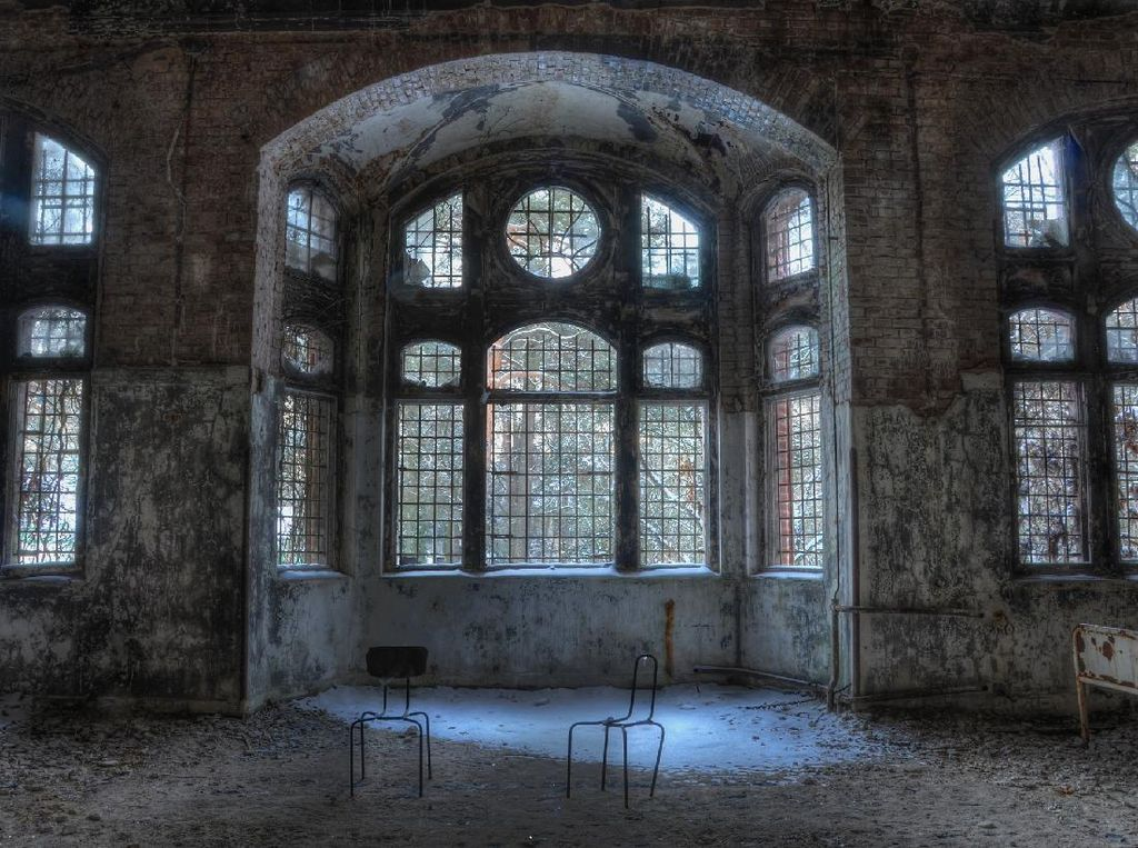Foto: Rumah Sakit Bekas Hitler yang Horor di Jerman