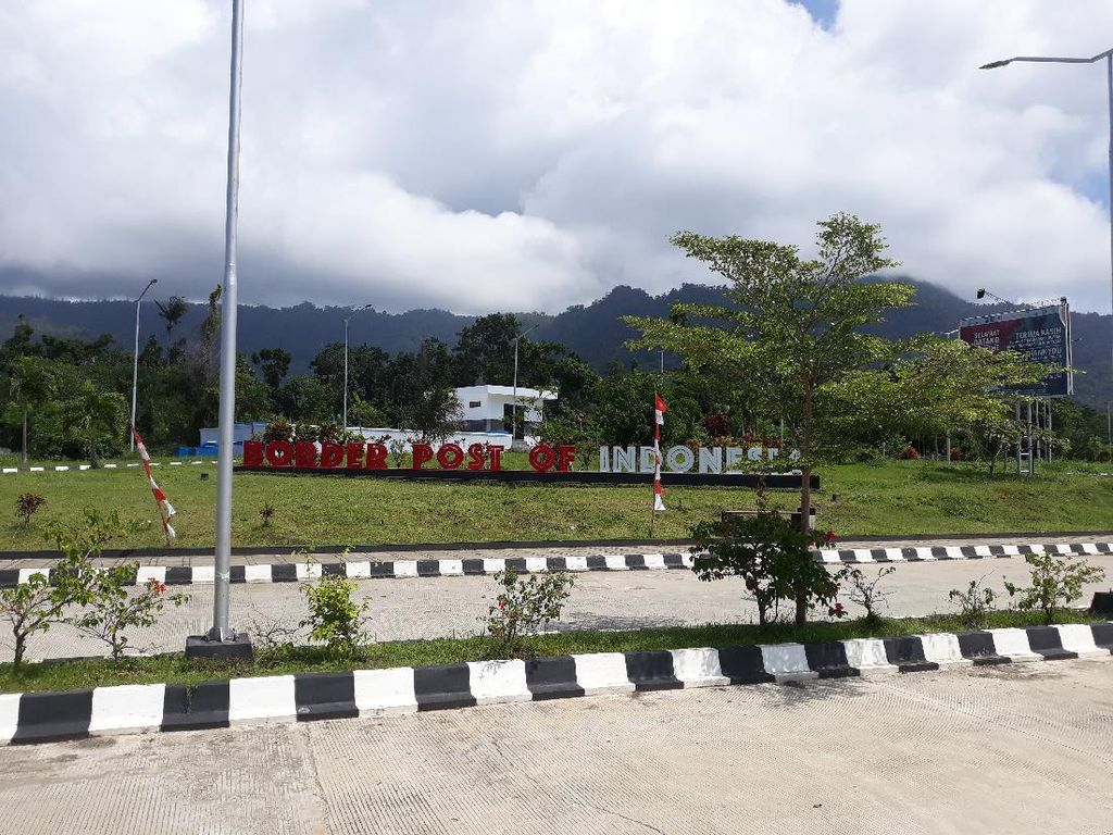Melihat Skouw, Wajah Terdepan di Perbatasan Indonesia-Papua Nugini