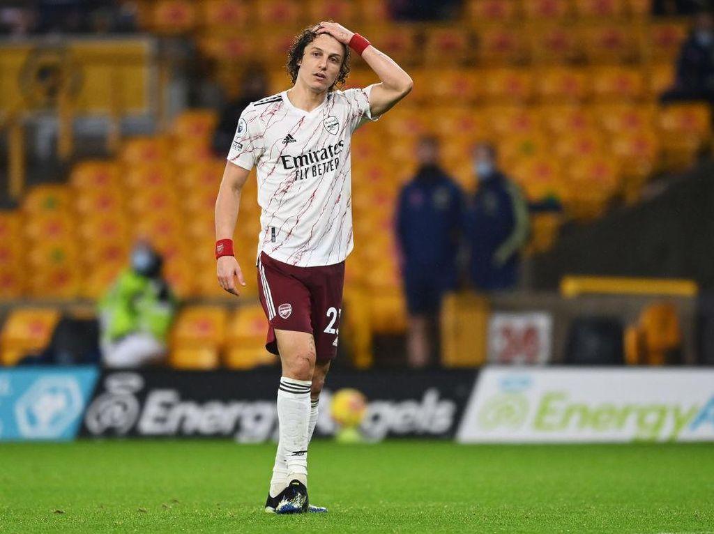 Aston Villa Vs Arsenal: Banding Ditolak, David Luiz Dipastikan Absen