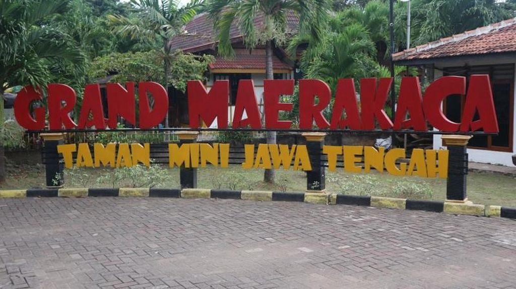 Foto Jawa Tengah Jadi Miniatur