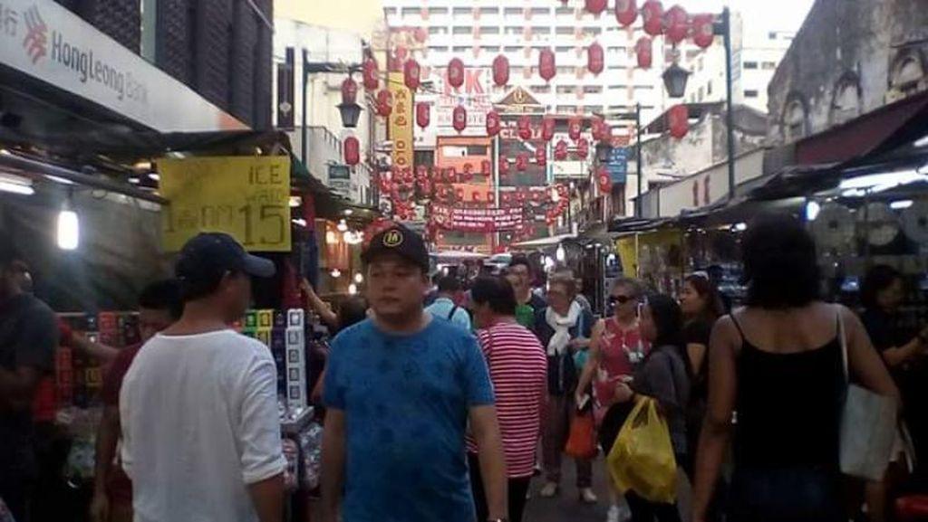 Foto: Ramainya Petaling Street Sebelum Corona Menyerang