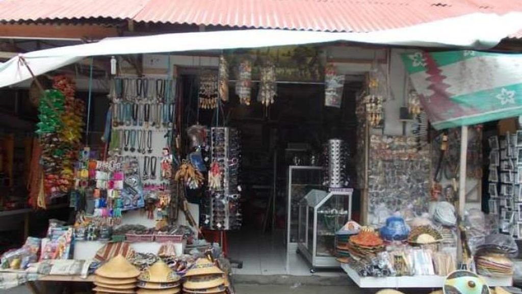 Ini Pasar di Bedugul Bali, Pernah ke Sini?