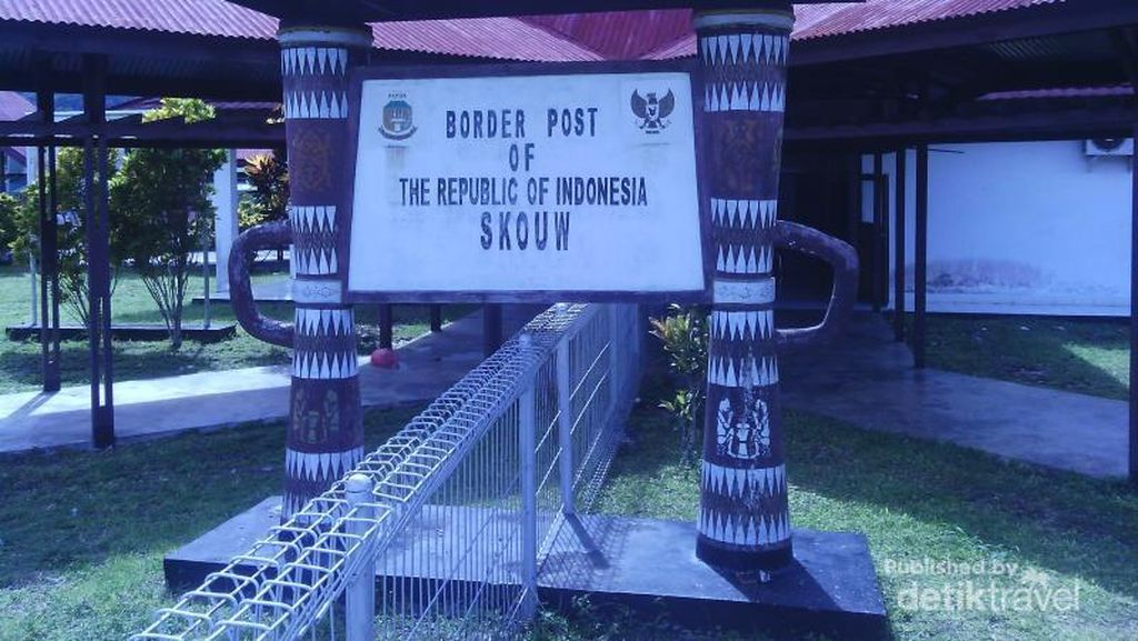 Melihat Perbatasan Indonesia-Papua Nugini di Jayapura