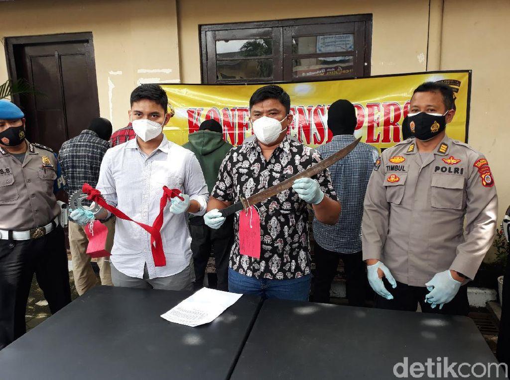 6 Anggota Geng Pelajar di Yogya Ditangkap Gegara Sabet 2 Remaja Pakai Gir