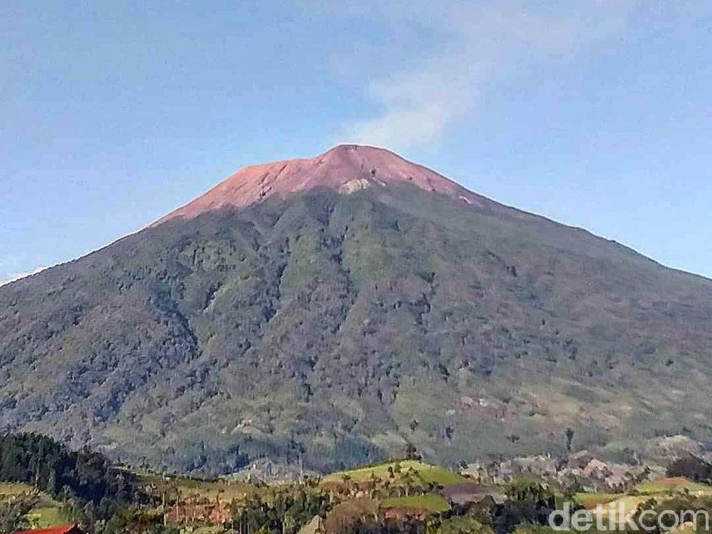 Jateng di Rumah Saja, Jalur Pendakian Gunung Slamet Via Bambangan Ditutup
