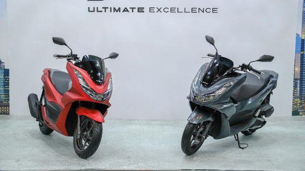 Honda PCX 160 resmi diluncurkan di Indonesia, Jumat (5/2/2021).