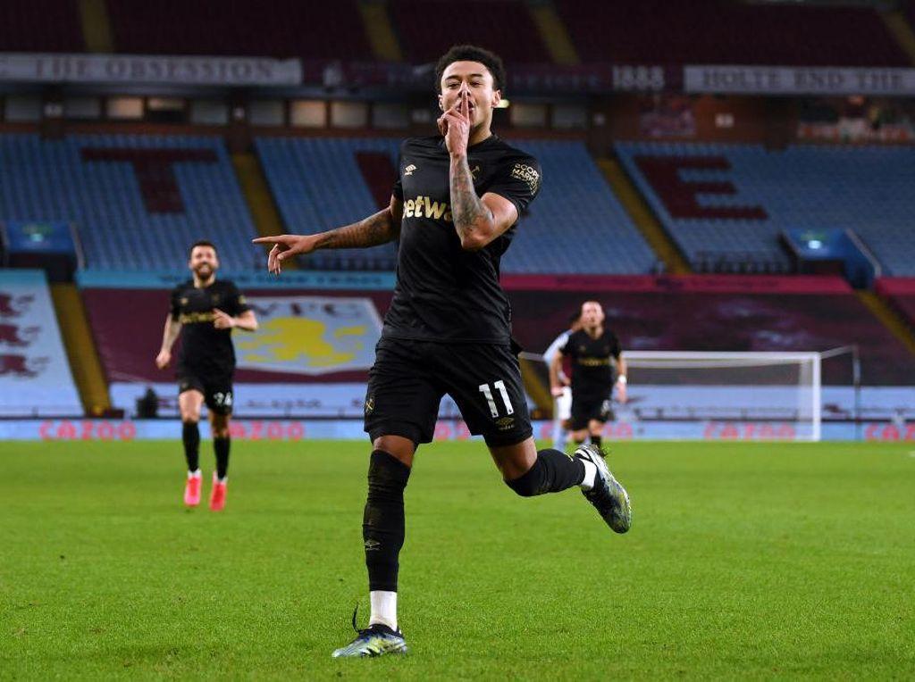 Jesse Lingard Debut Oke di West Ham, Man United Turut Bahagia
