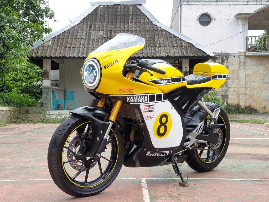 Potret Yamaha R15 Dimodifikasi Jadi Neo Cafe Racer
