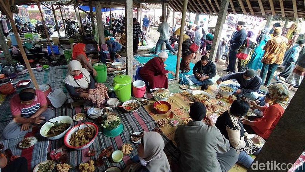 Foto: Pasar di Magelang yang Cuma Buka Setiap Jumat Pahing