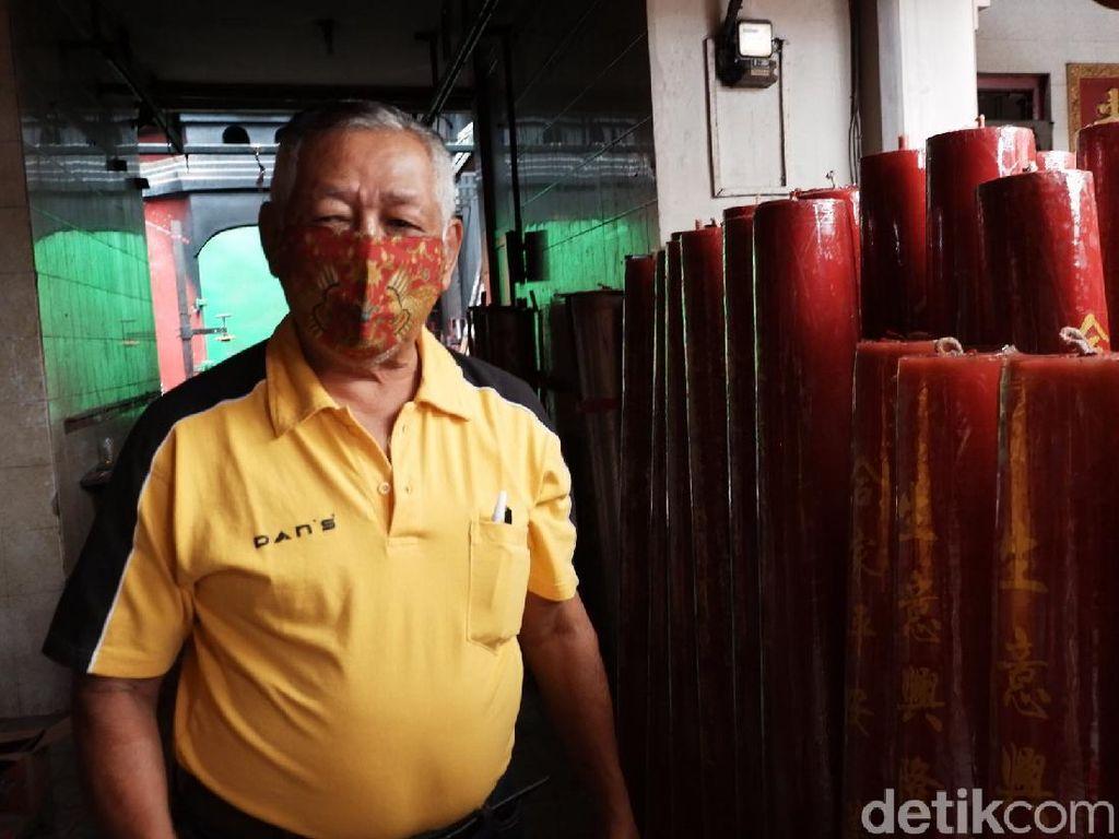 Jelang Imlek 2021, Produksi Lilin di Kota Bandung Turun 35 Persen