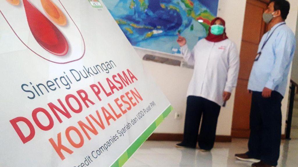 PMI Dapat Donor Plasma