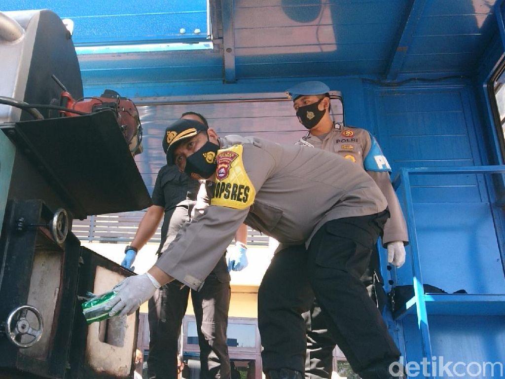 Polres Cilegon Musnahkan Sabu 13,8 Kg Senilai 13 Miliar