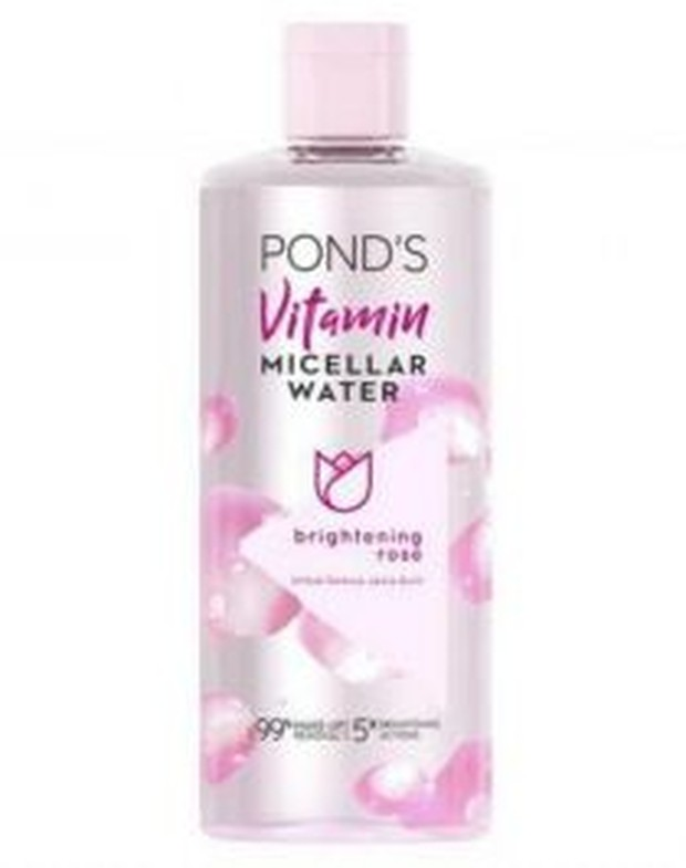 POND'S Vitamin Micellar Water Brightening Rose Make Up Remover