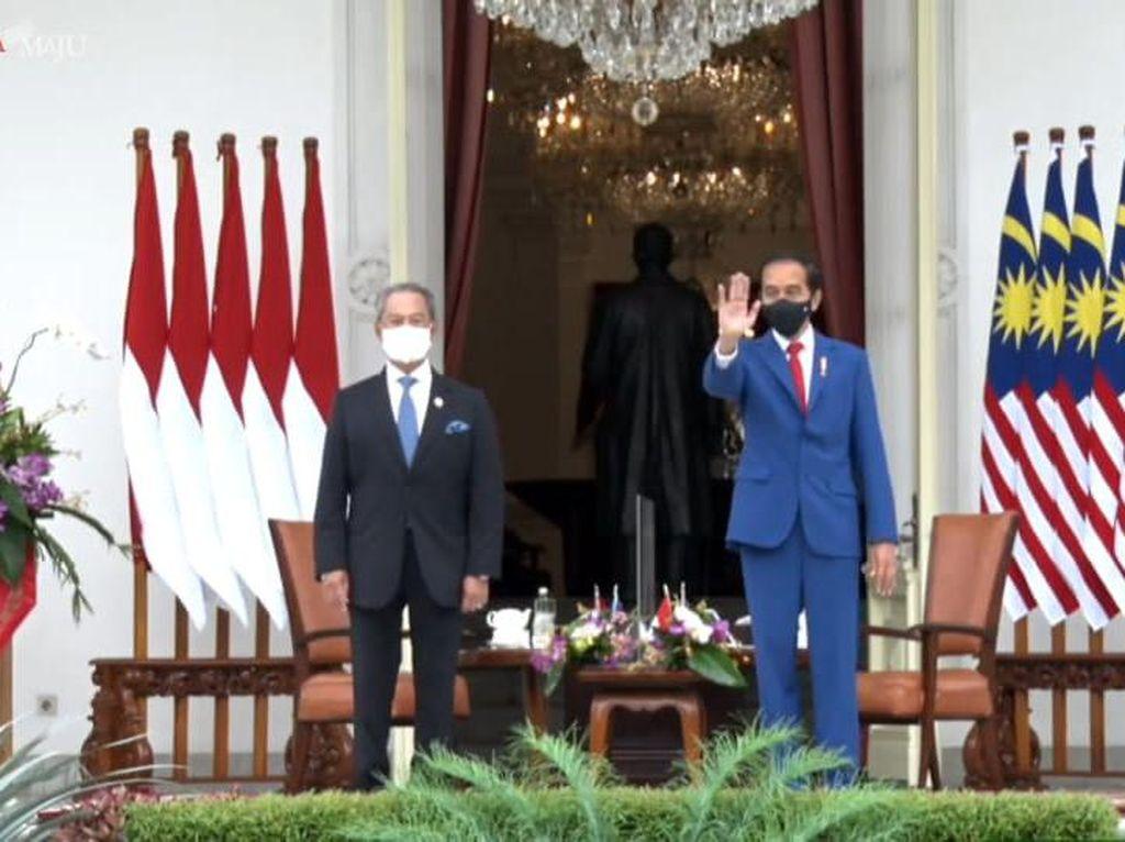 Jokowi-PM Malaysia Bahas TKI Hingga Kudeta Myanmar