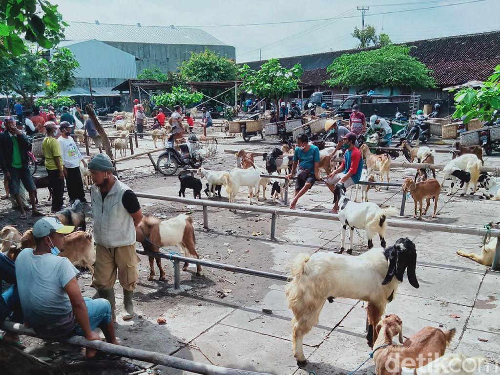 Pedagang Ternak-Warung Makan di Klaten Keluhkan Jateng di Rumah Saja