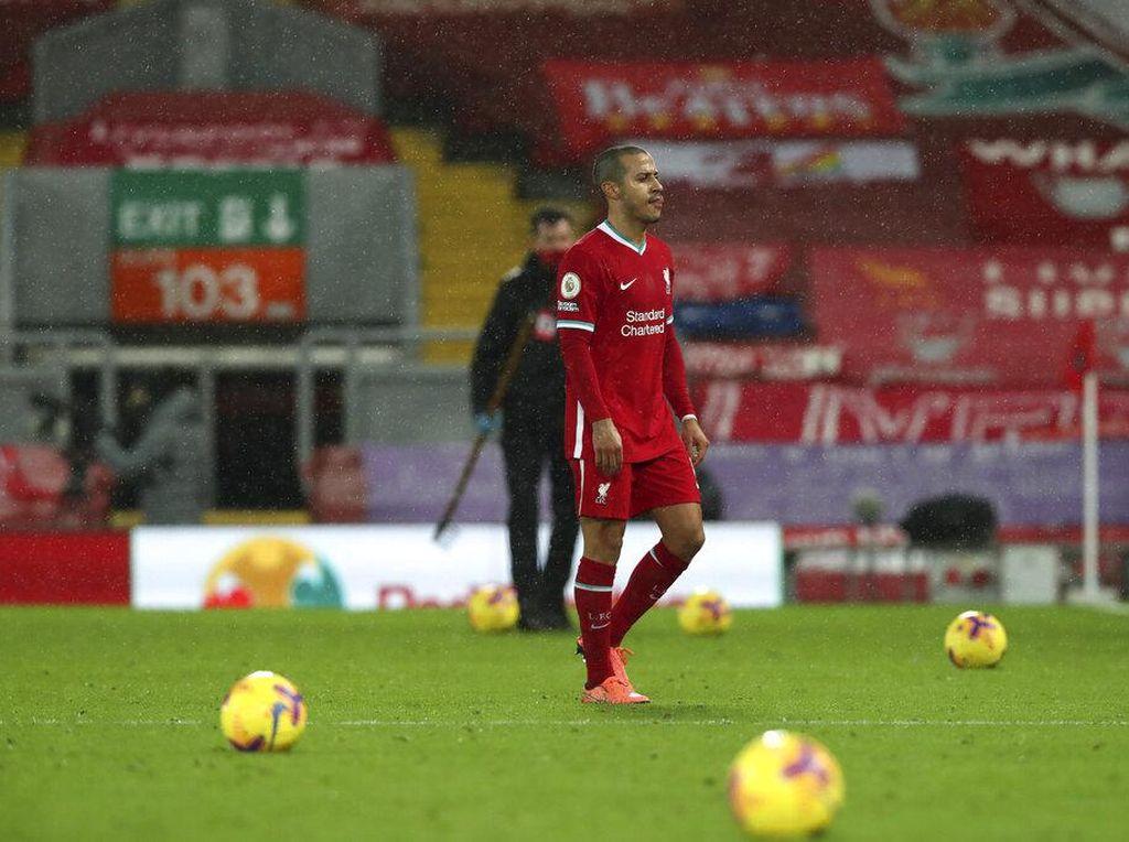 Thiago Jadi Starter, Liverpool Lebih Banyak Kalahnya
