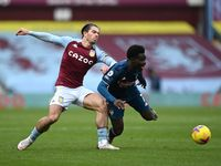 Aston Villa Vs Arsenal: Jack Grealish cs Unggul 1-0 di Babak Pertama