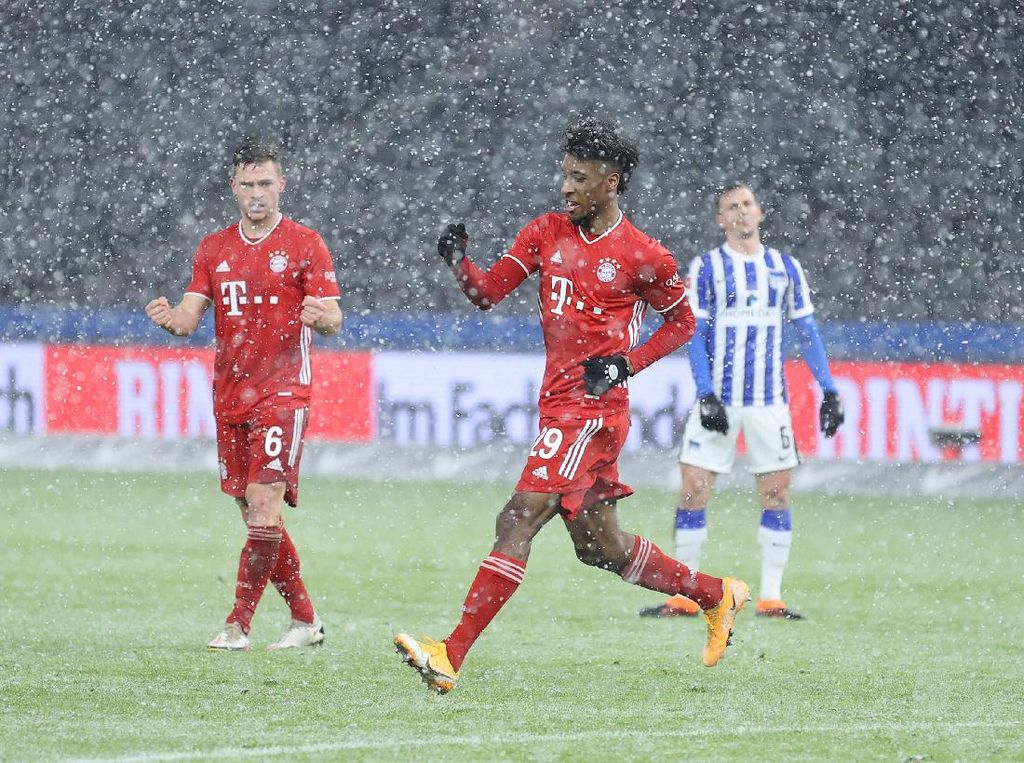 Gol Ala Tsubasa Kingsley Coman Bikin Bayern Menang