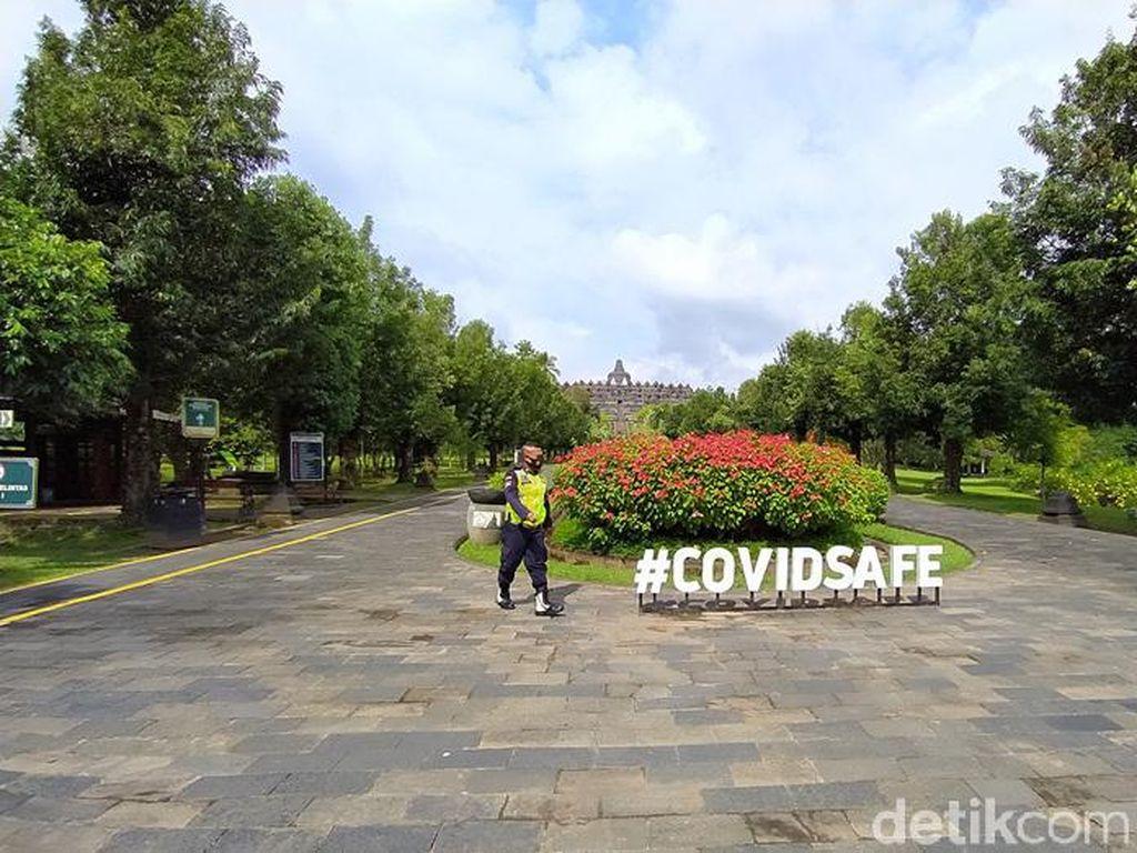 Dukung Gerakan Jateng Di Rumah Saja, Candi Borobudur Ditutup
