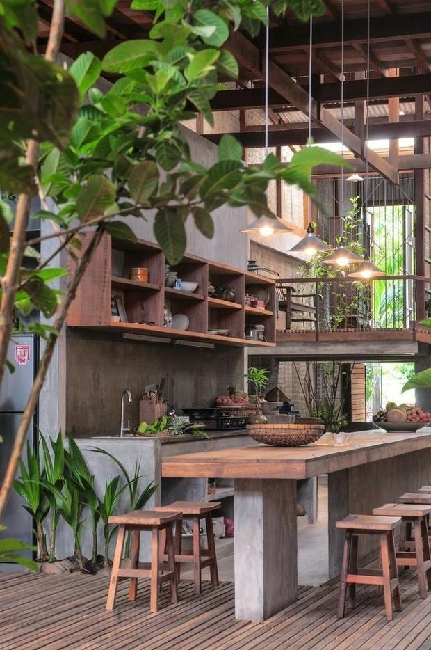 Desain Interior Kayu