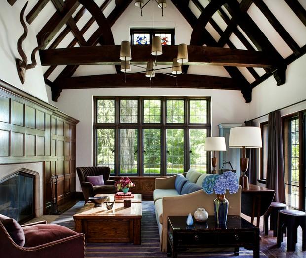 Desain Interior Tudor/