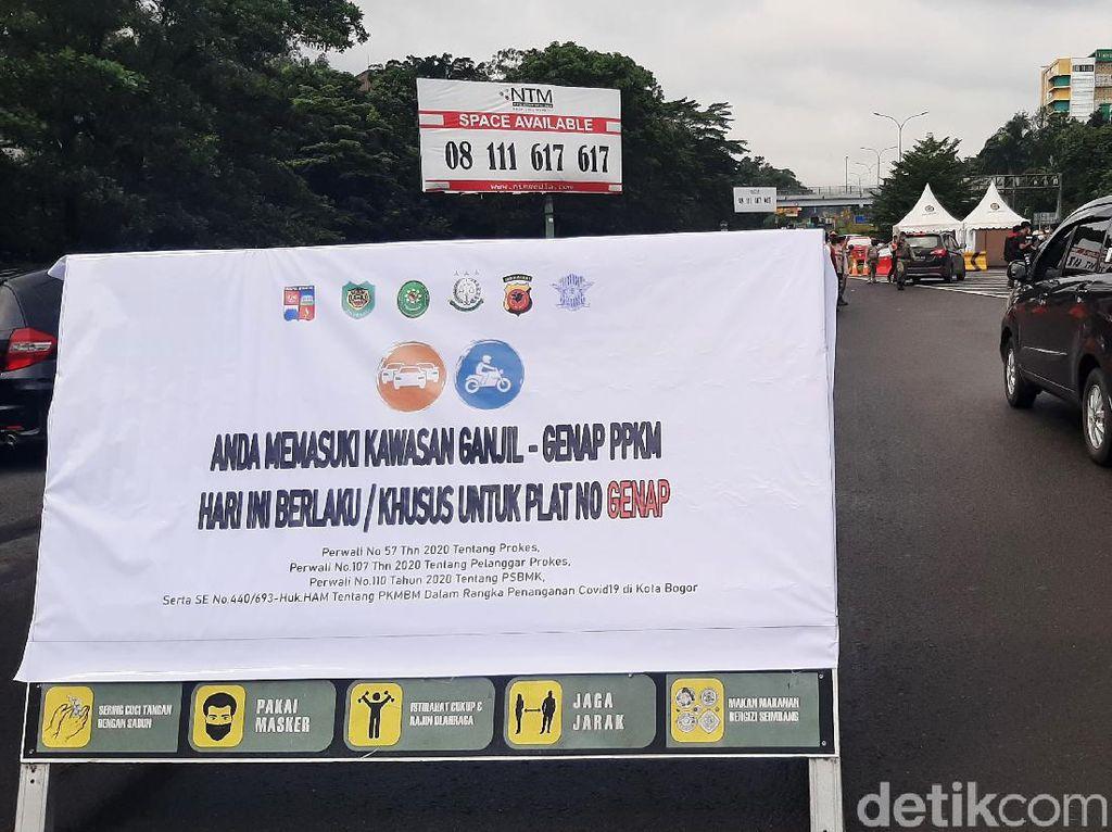 Tak Ada Ganjil Genap di Kota Bogor, Polisi Terjunkan Tim Antisipasi Kerumunan
