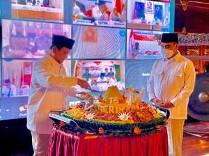 Di HUT Ke-13 Gerindra, Prabowo Tunjuk Cucu Pendiri NU sebagai Waketum