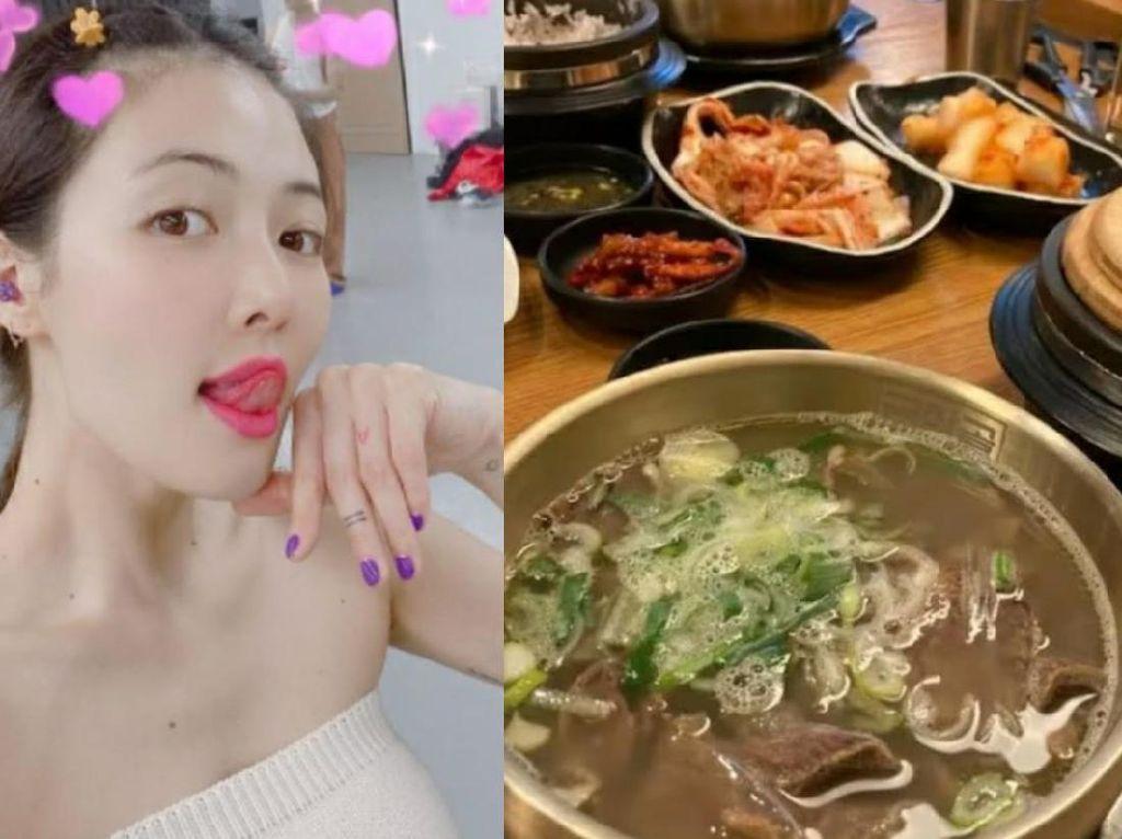 Royal Banget! HyunA Kasih Kartu Kredit untuk Traktir Makan Penggemarnya