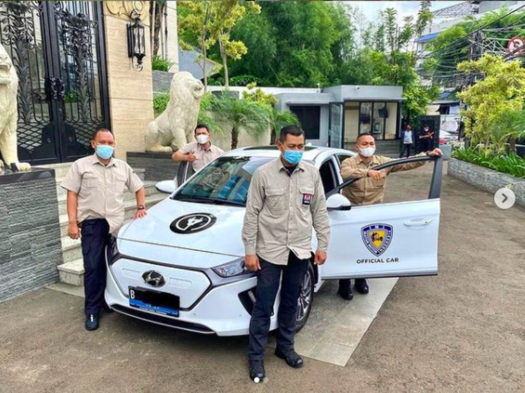 Keren Gak Sih, Mobil Operasional IMI Kini Berbekal Listrik