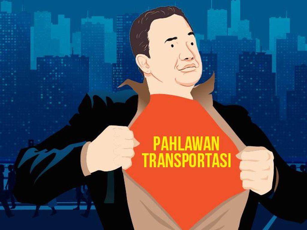 Alasan Anies Baswedan Dinobatkan Sebagai Pahlawan Transportasi