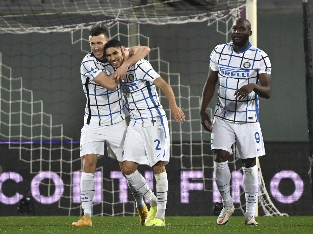 Fiorentina Vs Inter: Menang 2-0, Si Ular Gusur Milan dari Puncak
