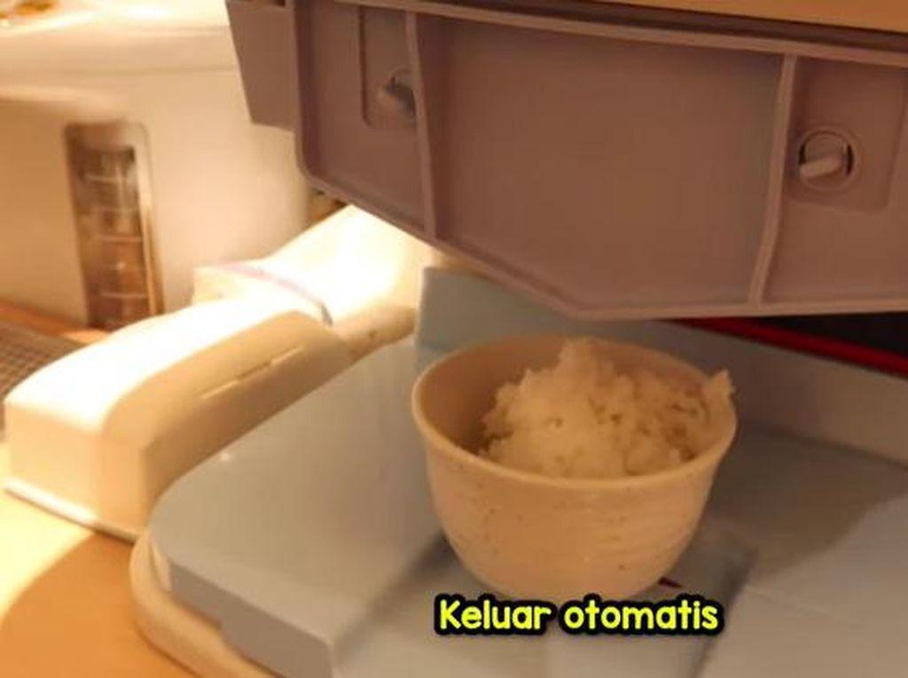Canggih! Di Jepang Ada Mesin Otomatis yang Menyajikan Nasi
