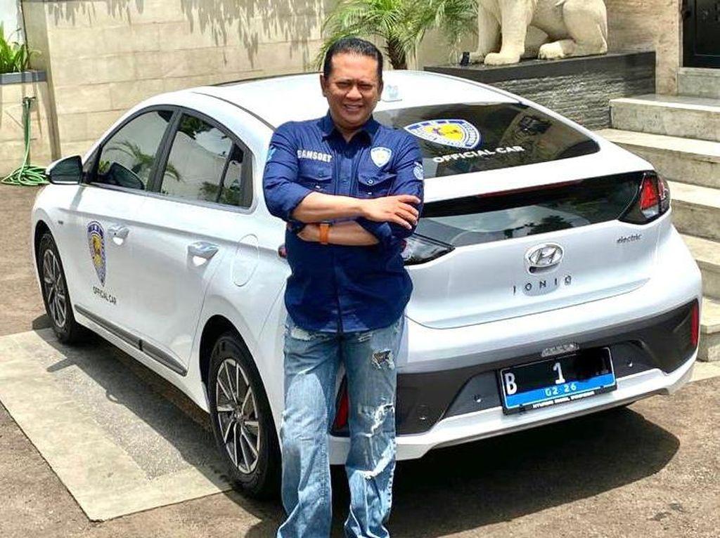 Bamsoet Pilih Hyundai IONIQ Jadi Official Car IMI, Ini Alasannya