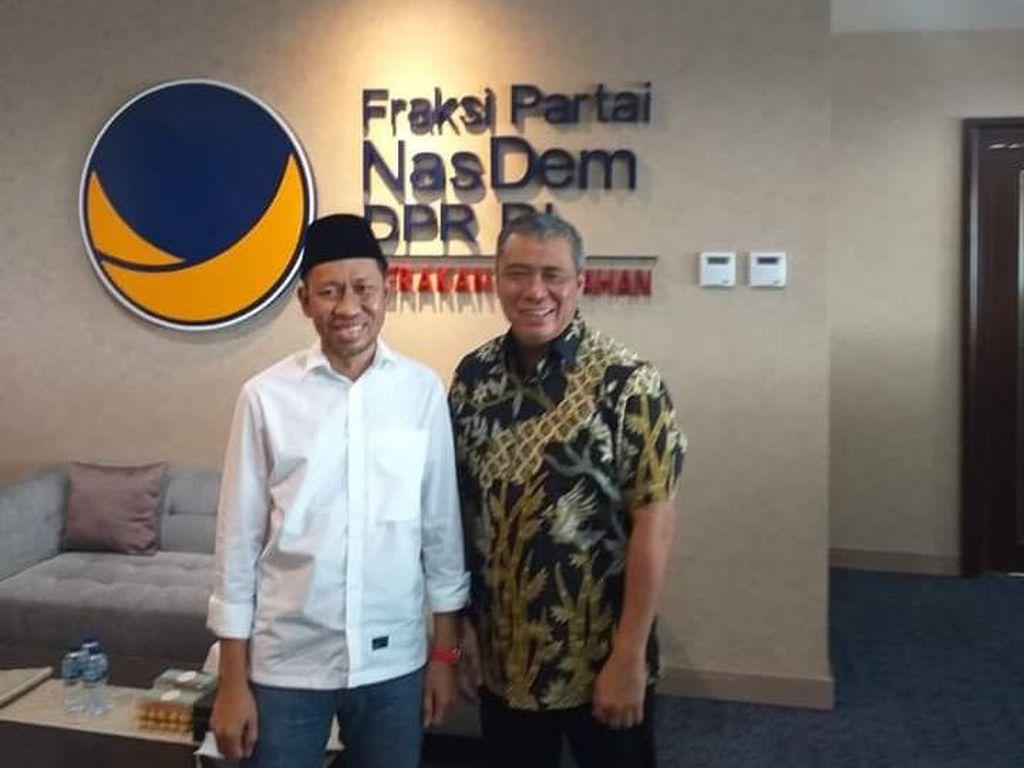 Berdamai, Ketua PSI Surabaya Minta Maaf ke Waketum NasDem
