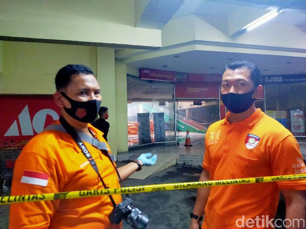 Kebakaran di Mal Panakkukang Makassar Sudah Padam, Polisi Olah TKP