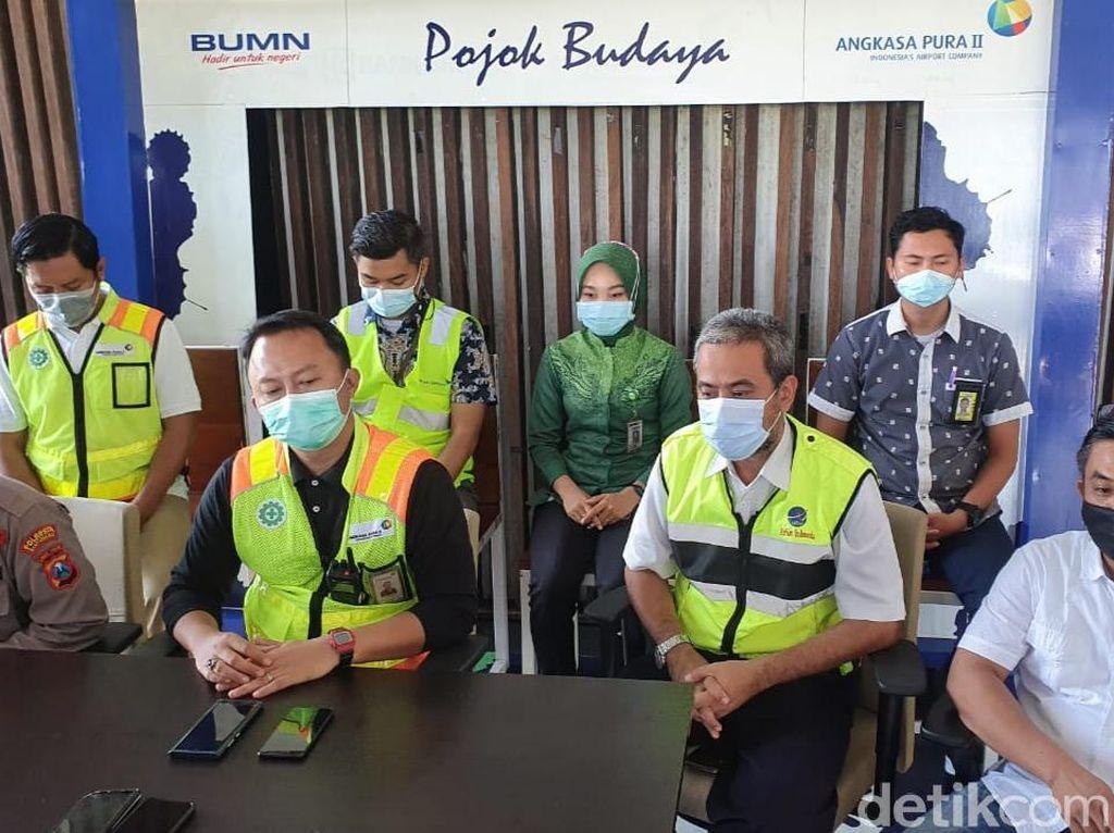 Penutupan Bandara Banyuwangi Dampak Abu Vulkanik Gunung Raung Diperpanjang 6 Jam